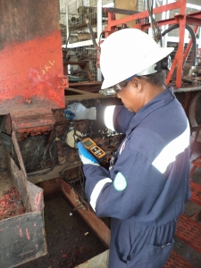 Ultrasonic Thickness Inspection @ Petrotrin, Santa Flora (2).JPG